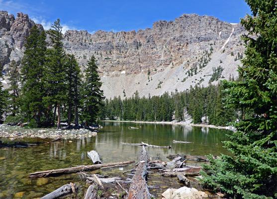 Baker Lake Trail Great Basin National Park Nevada