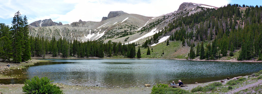 Alpine Lakes Loop Trail Great Basin National Park Nevada
