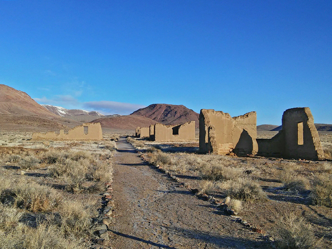 Fort Churchill State Historic Park Nevada