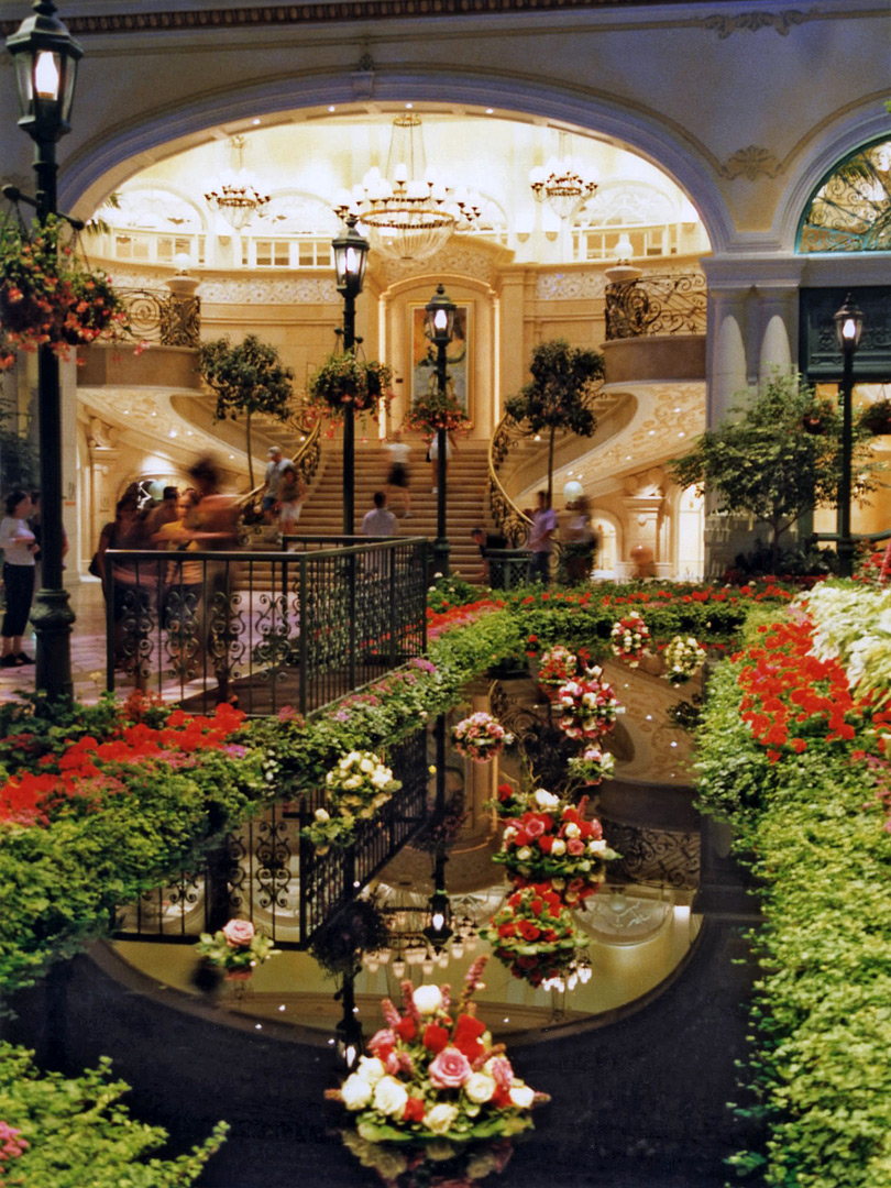 Interior of Bellagio