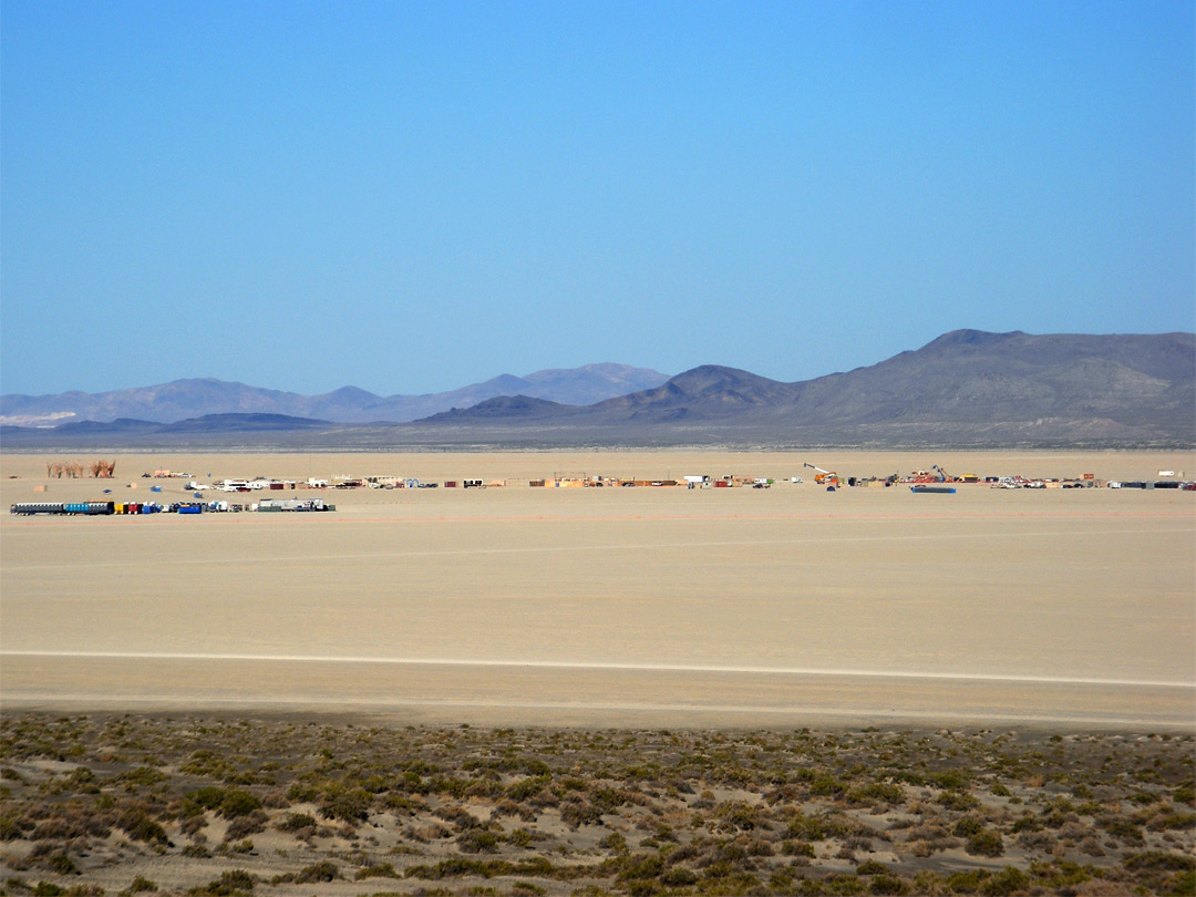 Site of Burning Man