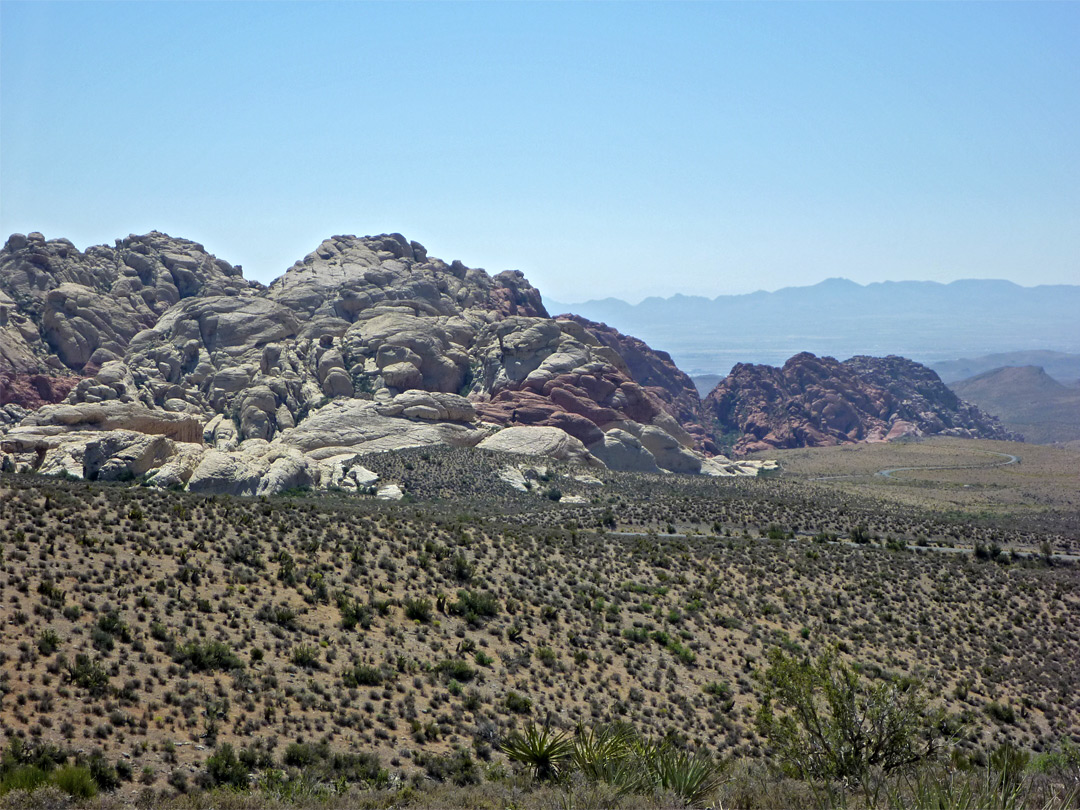 Edge of the Calico Hills