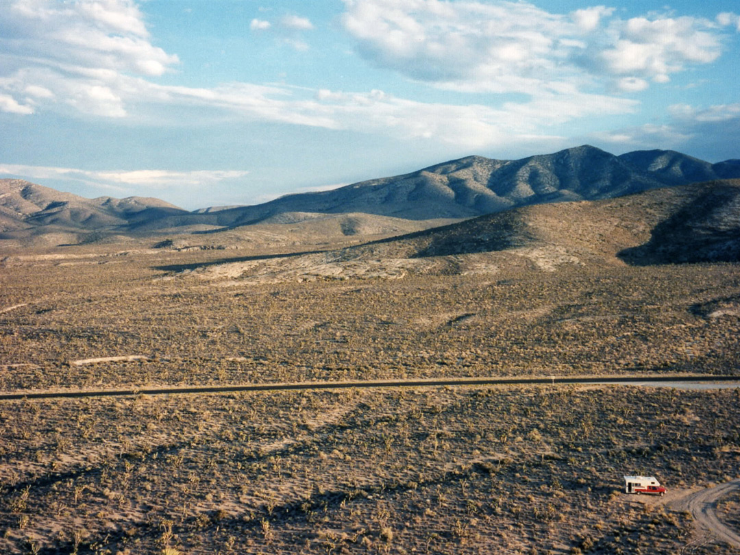 Hills around NV 156