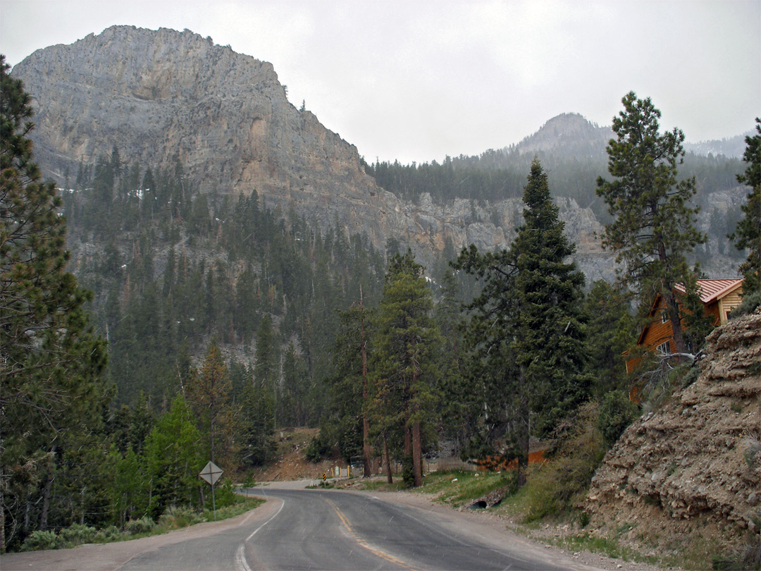 Approch to Mount Charleston Village