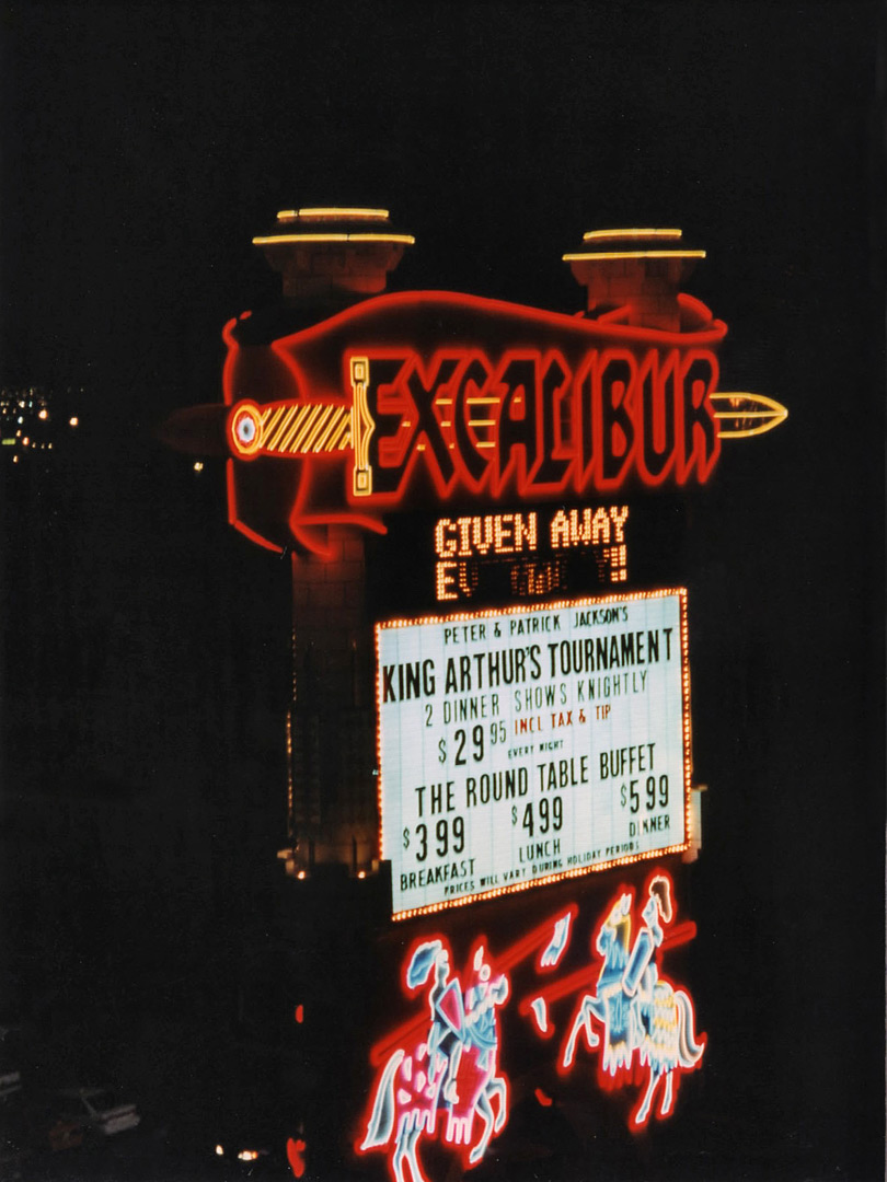 Excalibur sign