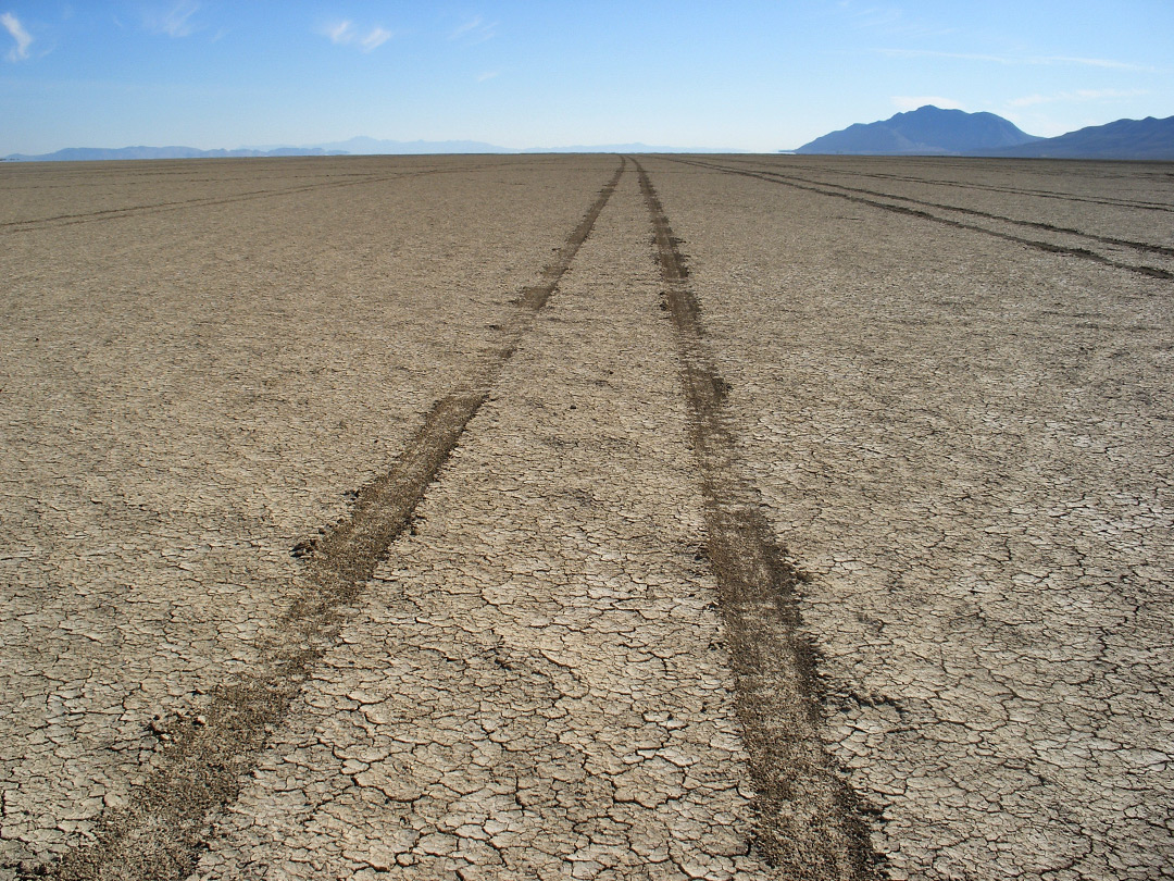 Track on the playa