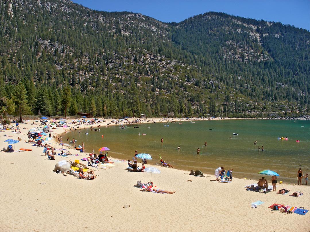 Tahoe Park Beach
