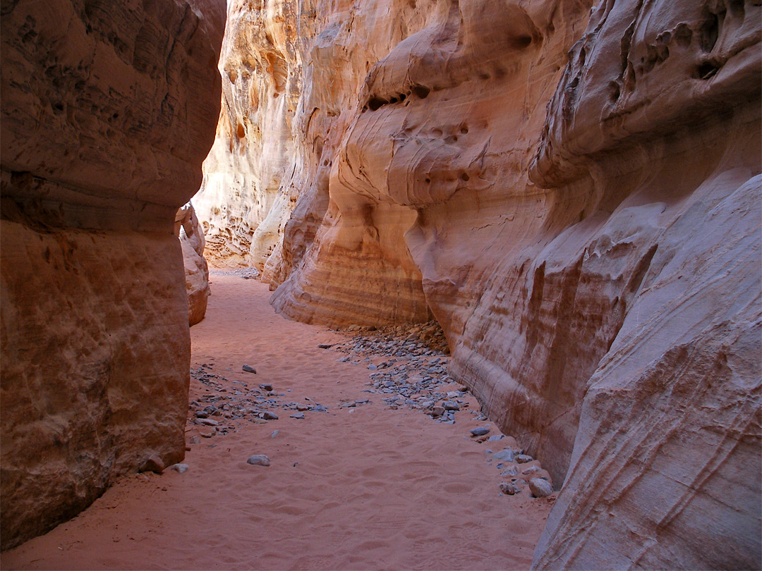 Slot canyon narrows
