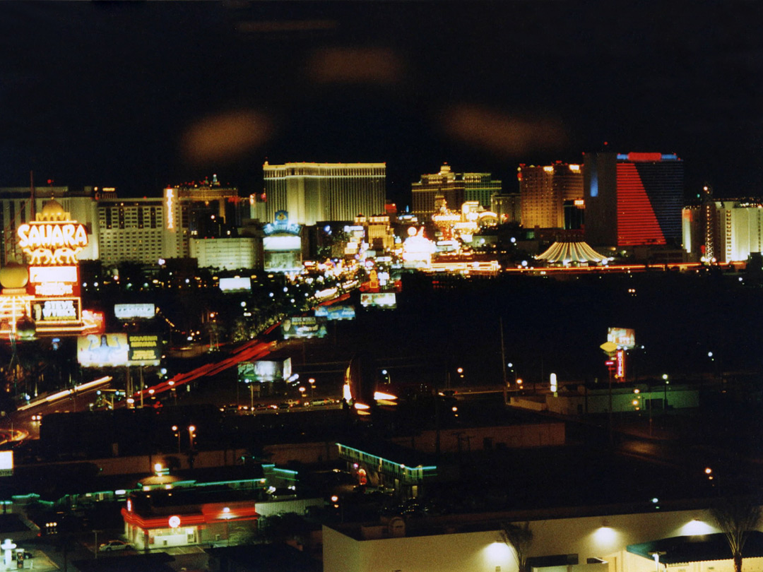 View south from Stratosphere
