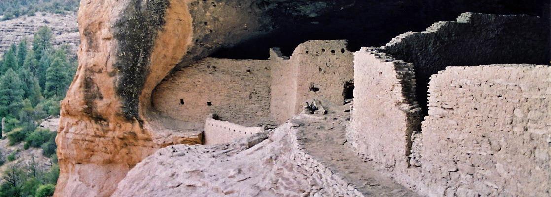 Gila Cliff Dwellings National Monument, near Silver City, New Mexico