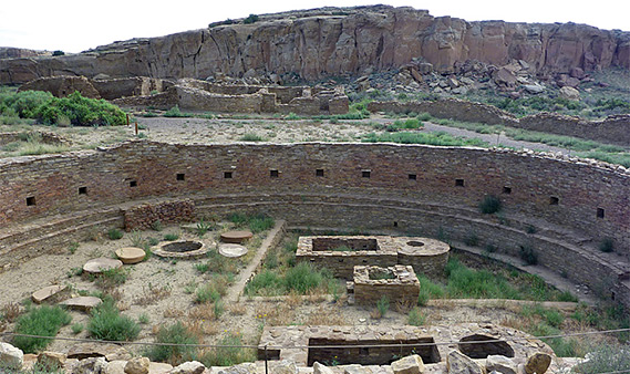 National Parks In New Mexico Map.Chaco Culture National Historical Park New Mexico