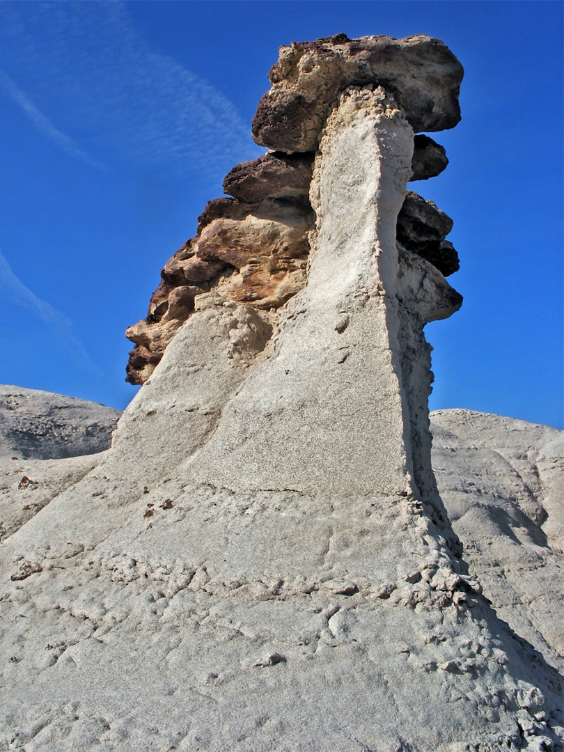Hoodoos and mudstone
