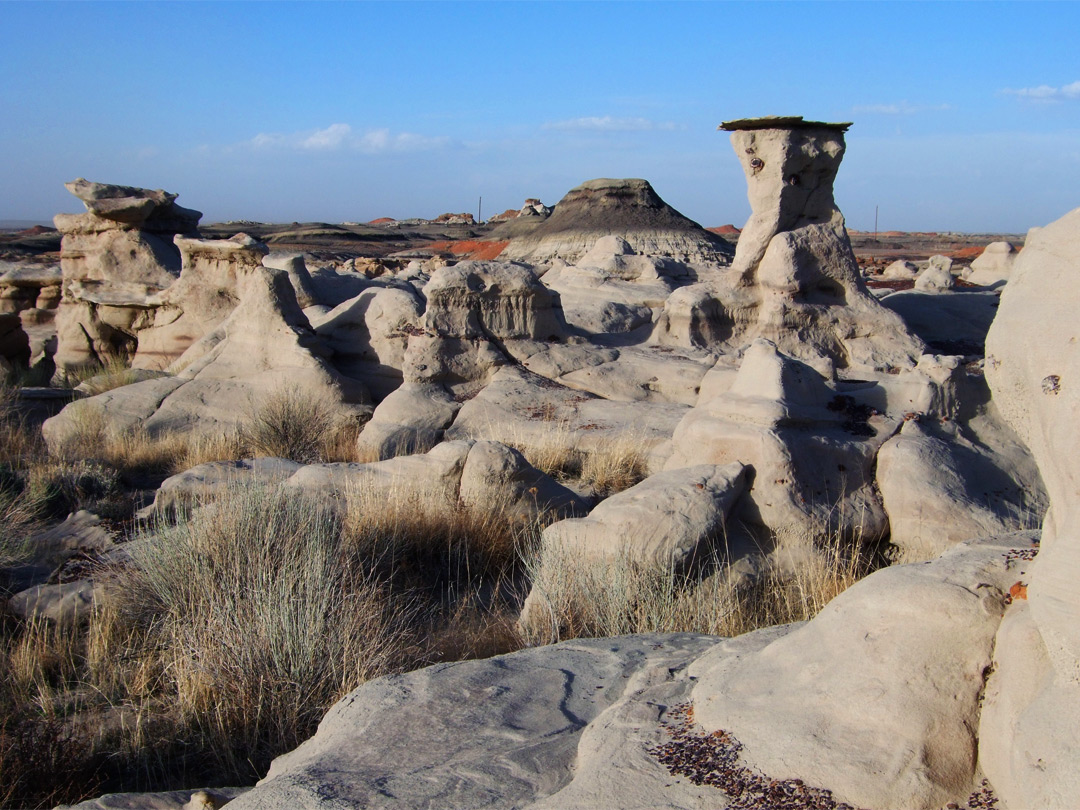 Hoodoos and badlands