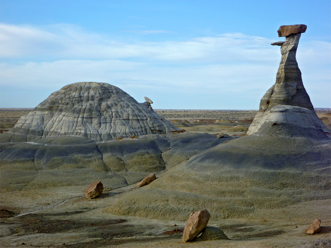 Hoodoo and mound