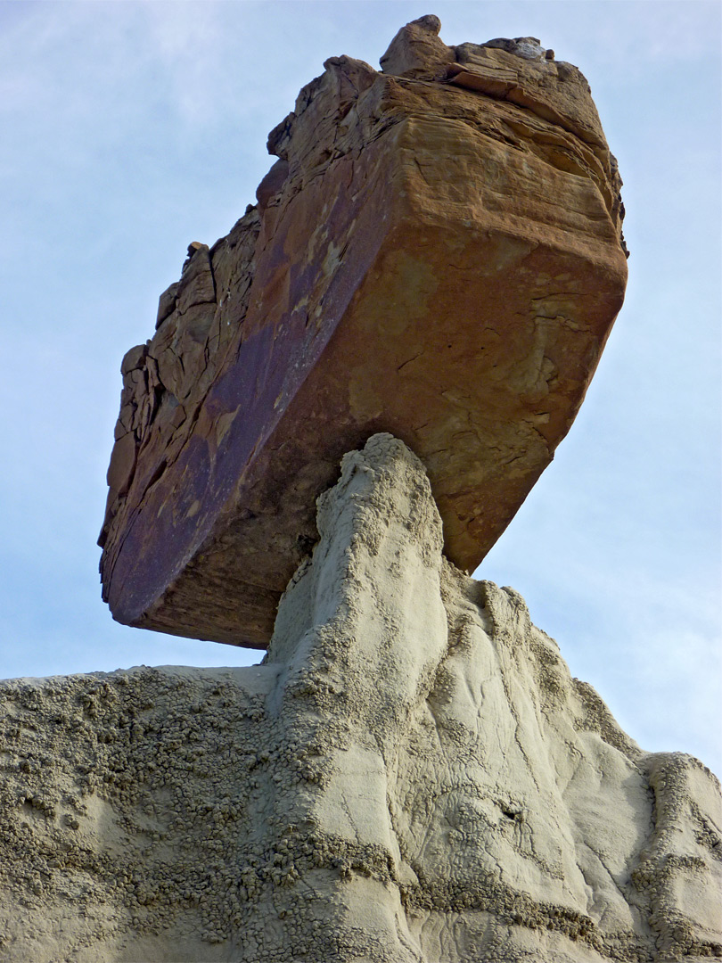 Large balanced rock