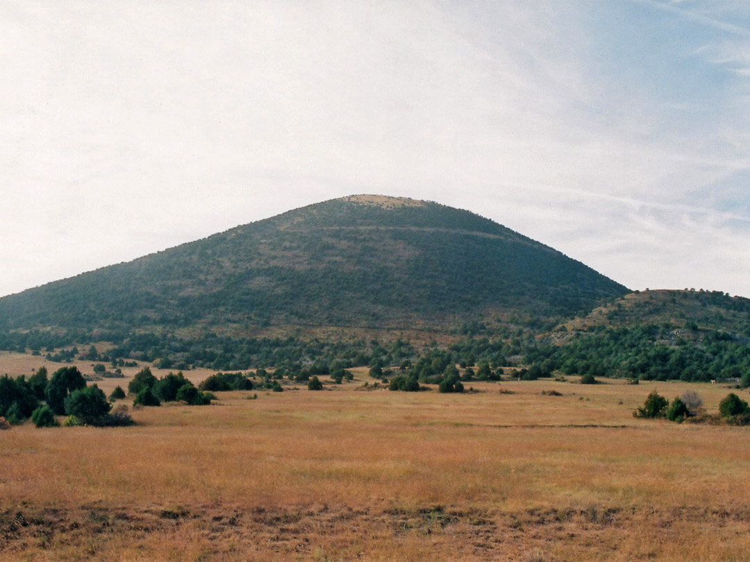 Capulin Volcano from the north
