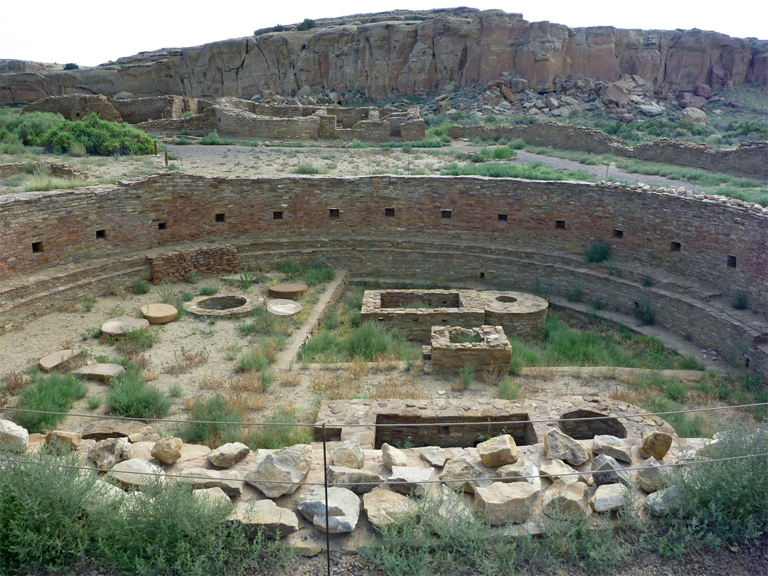 Kiva at Chetro Ketl