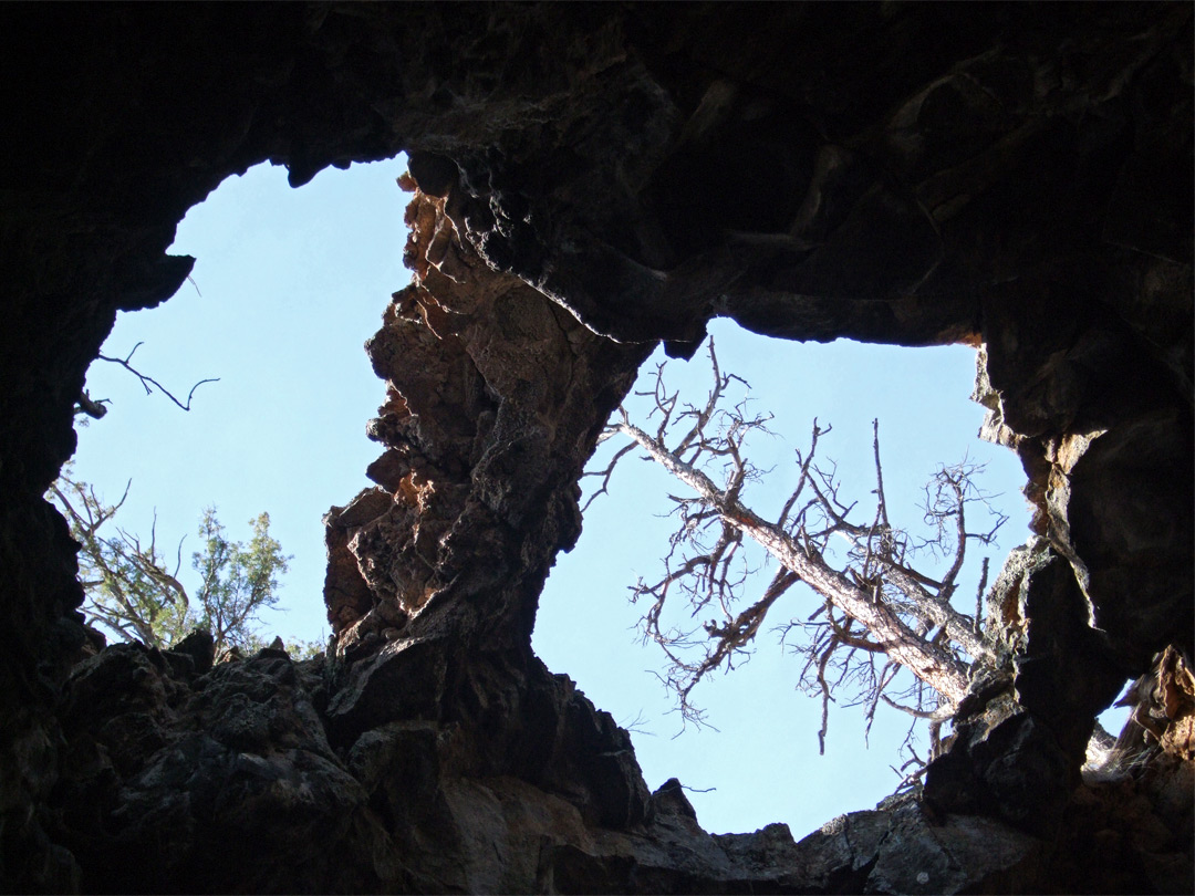 Openings in Four Windows Cave