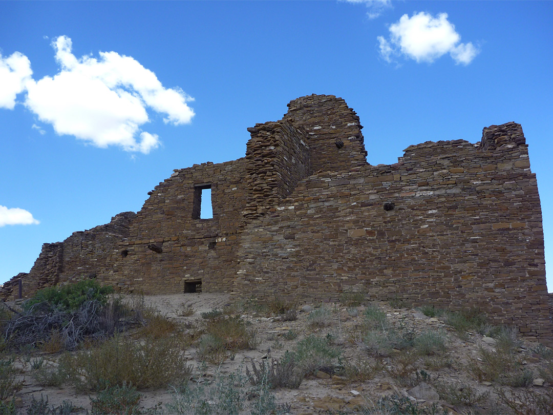 Walls at Pueblo del Arroyo