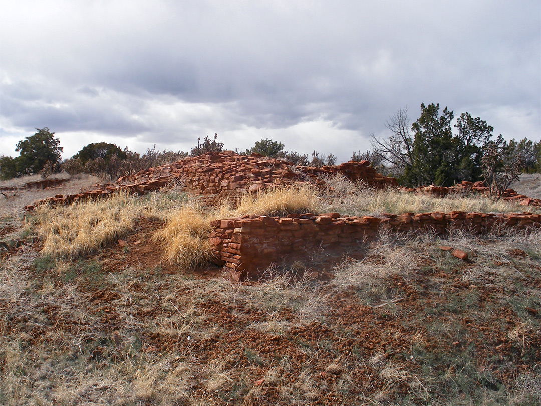 Unexcavated site at Quarai