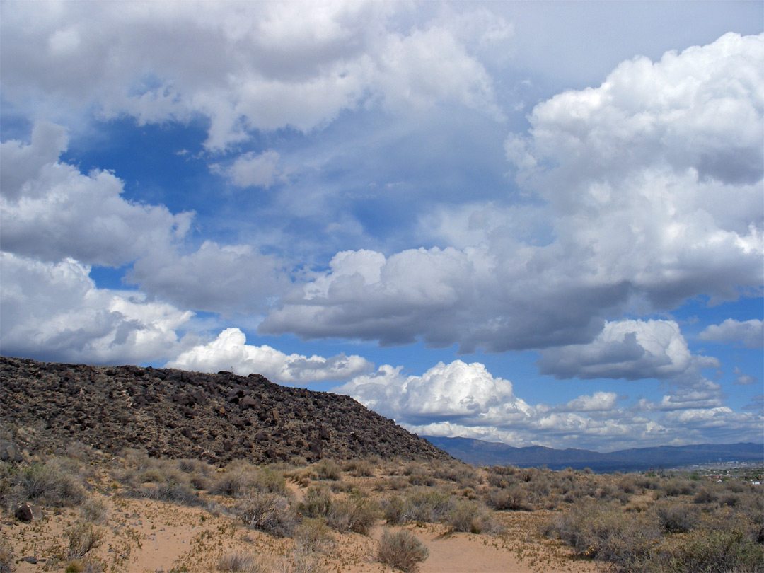 Clouds above Rinconada Canyon