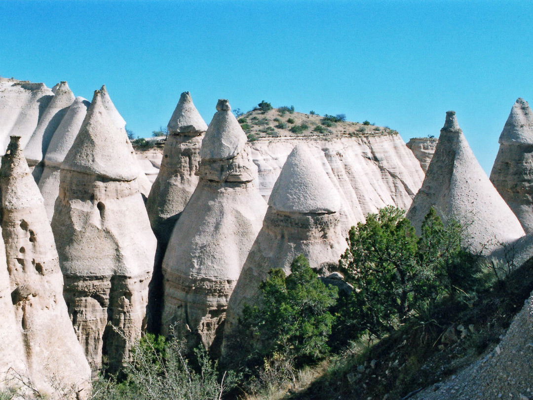The largest tent rocks