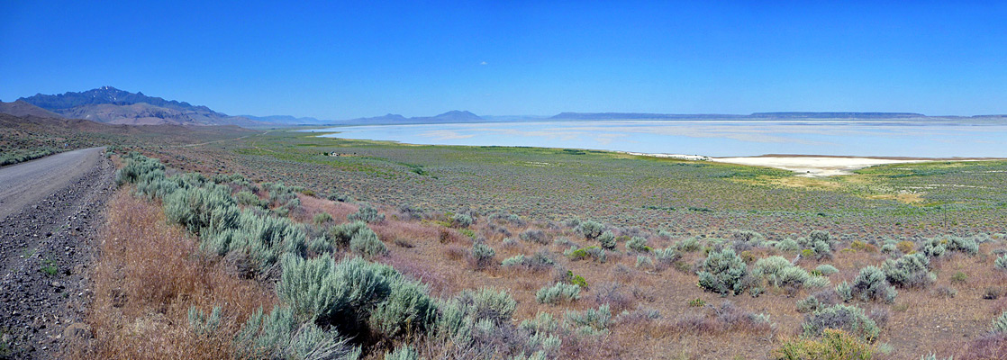 Alvord Desert Oregon Map.Southeast Oregon