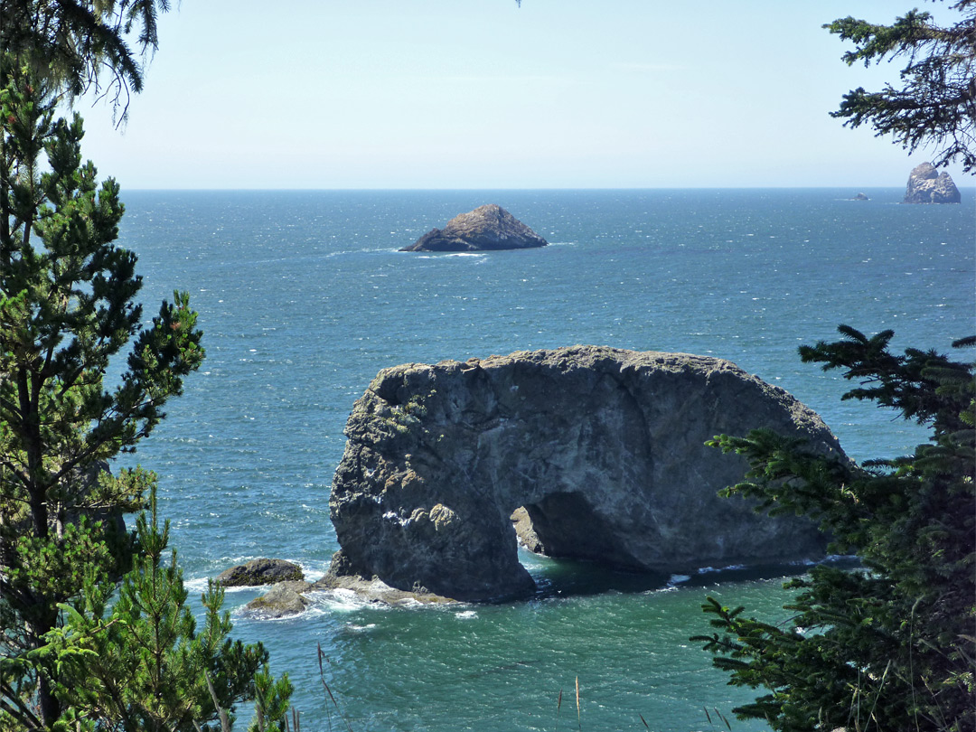 Arch Rock and Yellow Rock