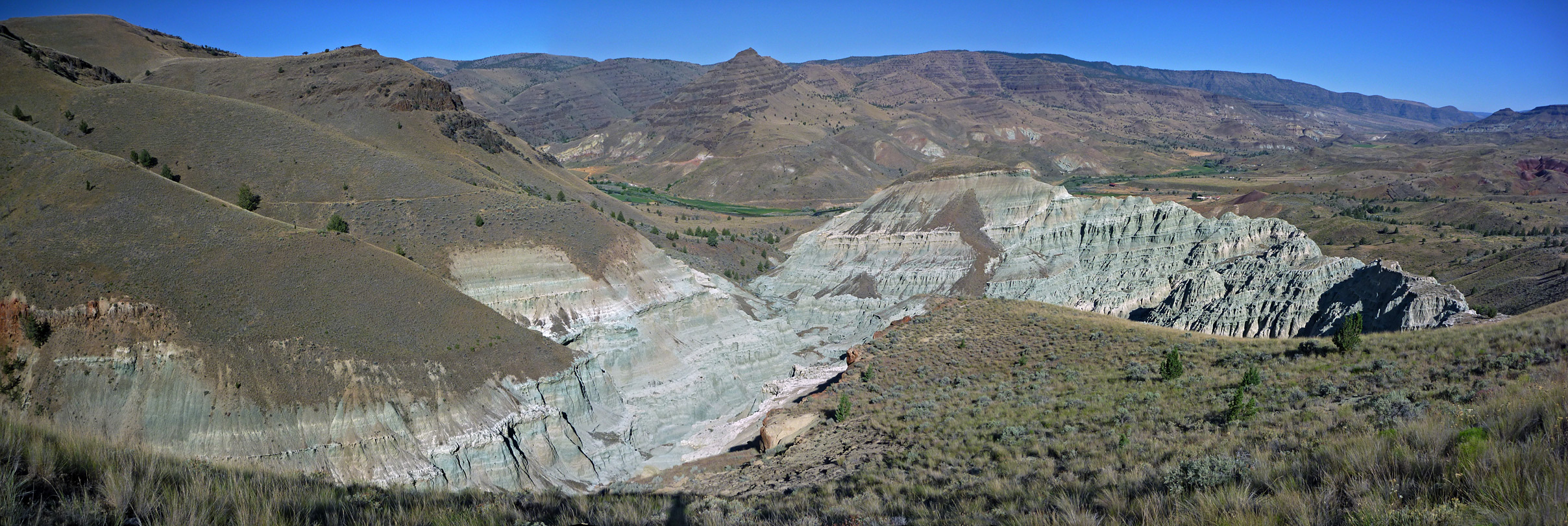 Wide view of Blue Basin