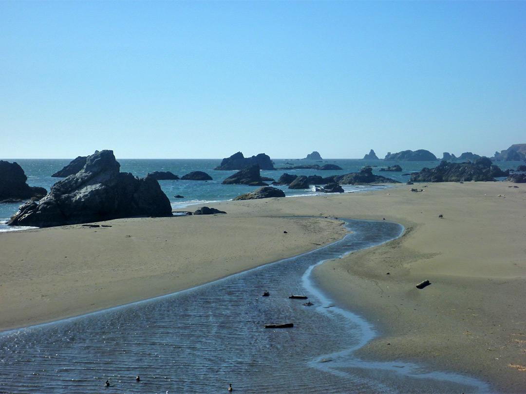 Southwest >> Harris Beach State Park: the Pacific Coast of South Oregon, Oregon