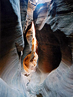 Chute Grand Canyon slot canyons of the american southwest - baptist draw/upper chute