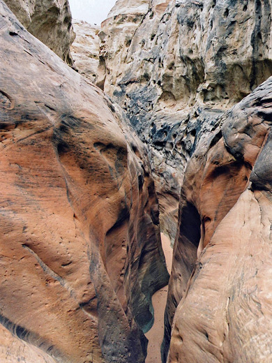 Bridge Across Valley Of Death >> Slot Canyons of the American Southwest - Blue Pool Wash, near Page, Utah