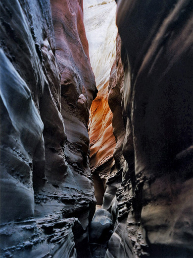 egypt slot canyon utah