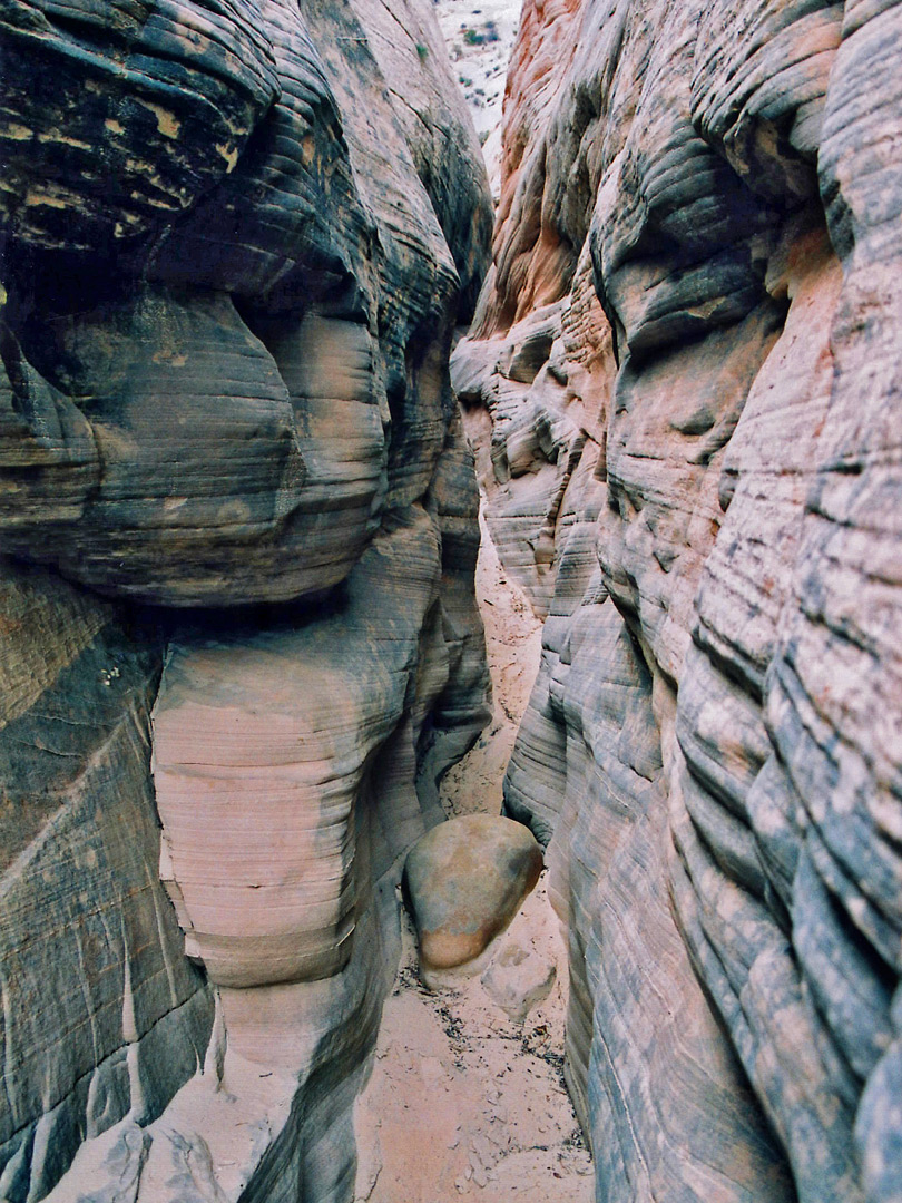 A side canyon