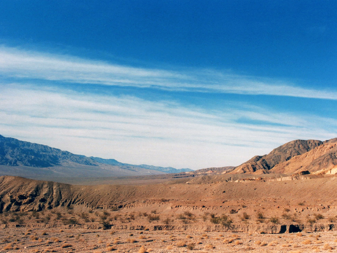 Death Valley, near the canyon