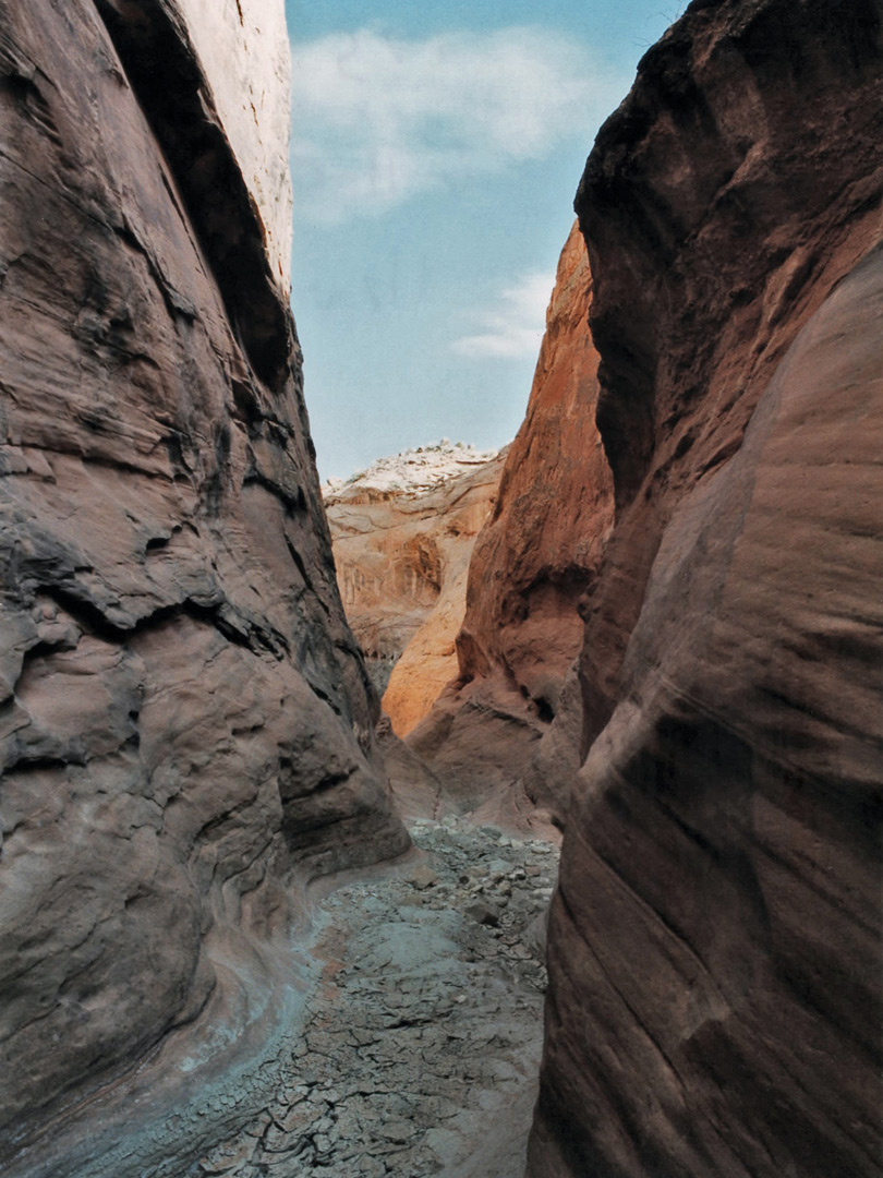 The upper canyon