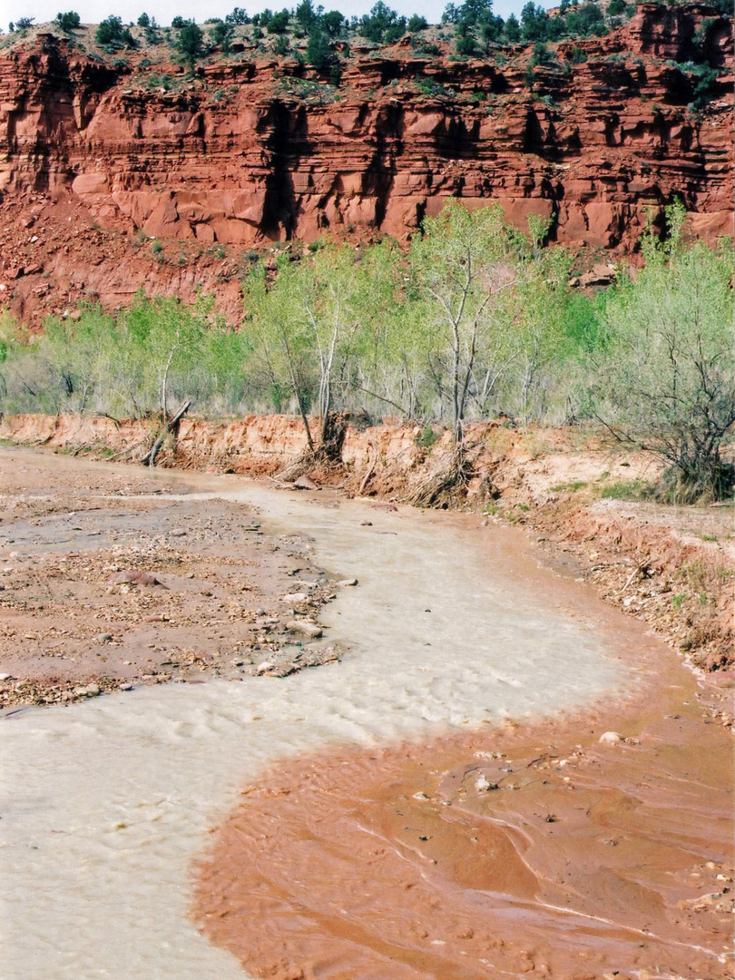 Kitchen Canyon meets the Paria River