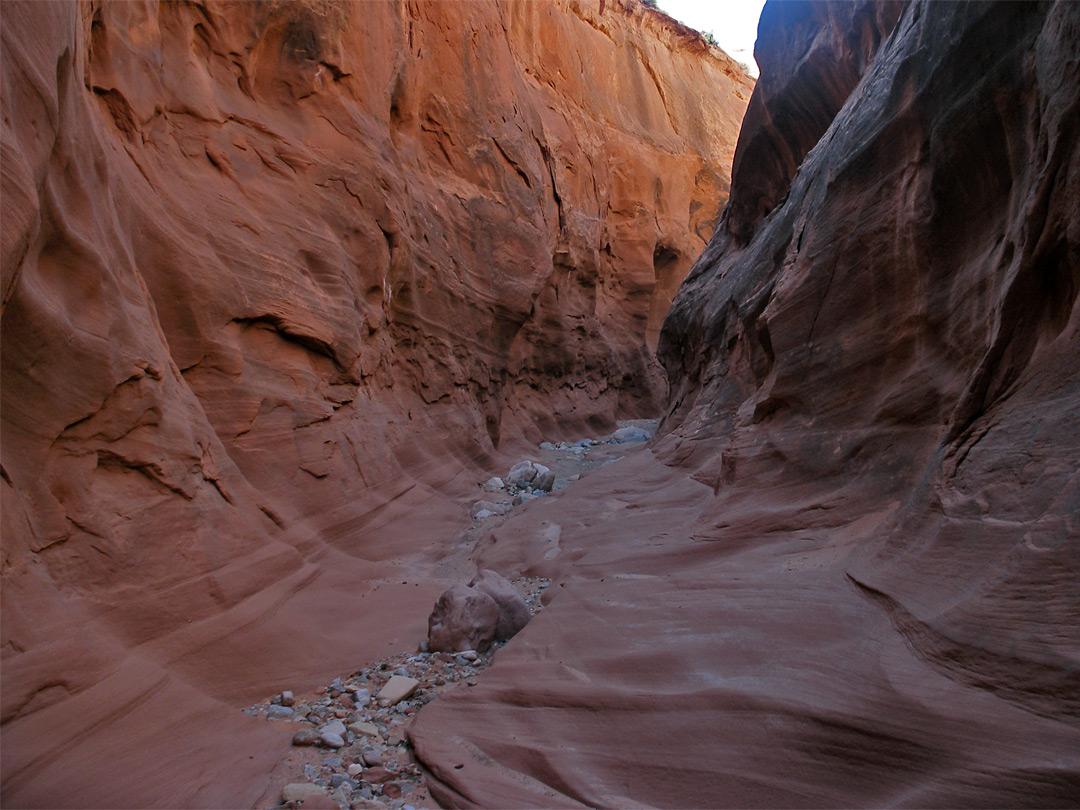 Texas slot canyons