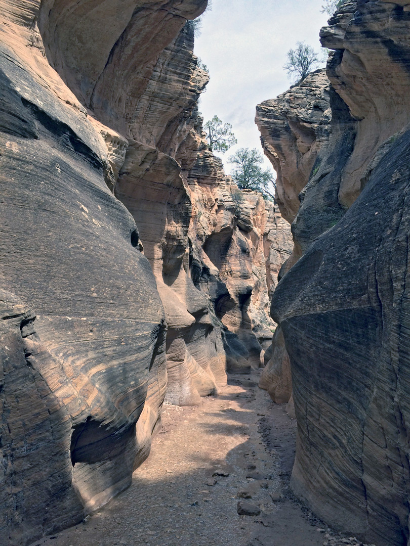 Deepening canyon