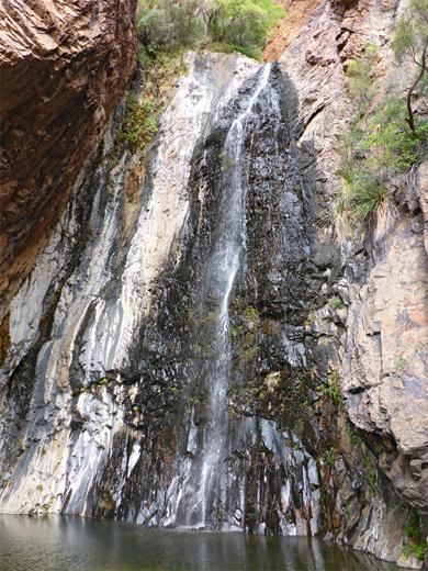 Cattail Falls Trail Big Bend National Park Texas