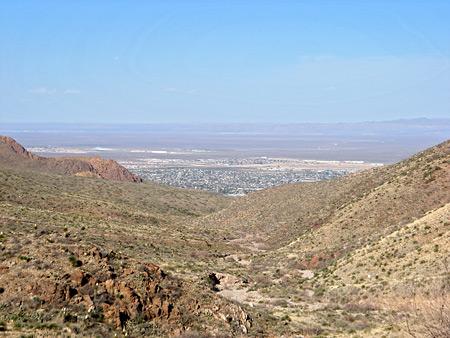 Franklin Mountains State Park El Paso Texas