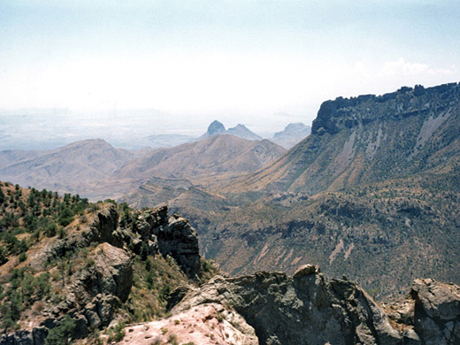Lost Mine Trail, Chisos Mountains, Big Bend National Park, Texas
