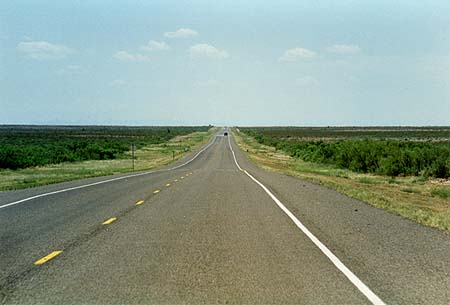 US 285 in Texas, between Orla and Pecos