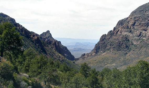 Chisos Mountains and the North, Big Bend National Park, Texas