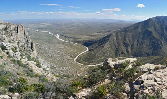 Guadalupe Mountains National Park Texas
