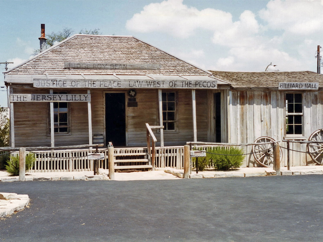 Roy Bean's saloon