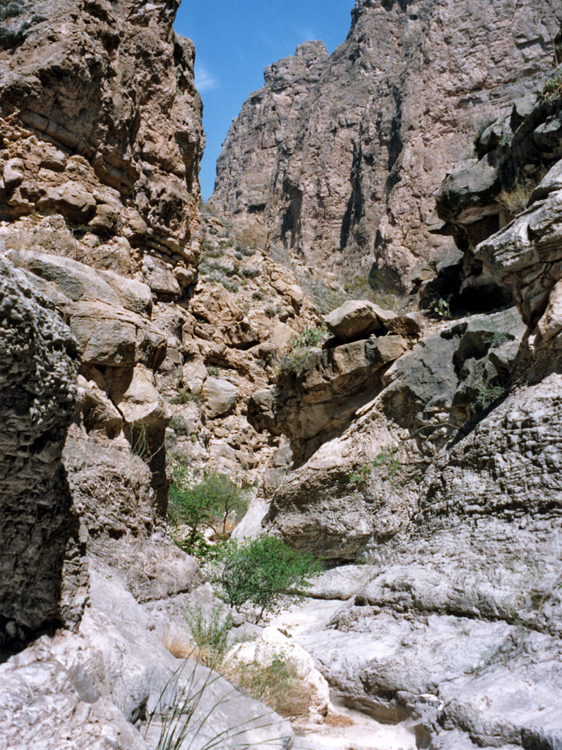 Passage in the Boquillas side canyon