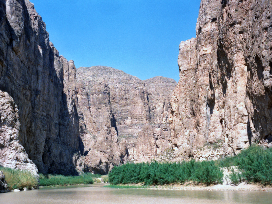 Half a mile into Boquillas Canyon