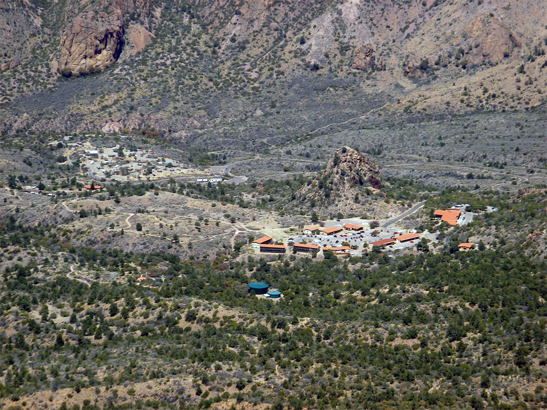 Village in Chisos Basin