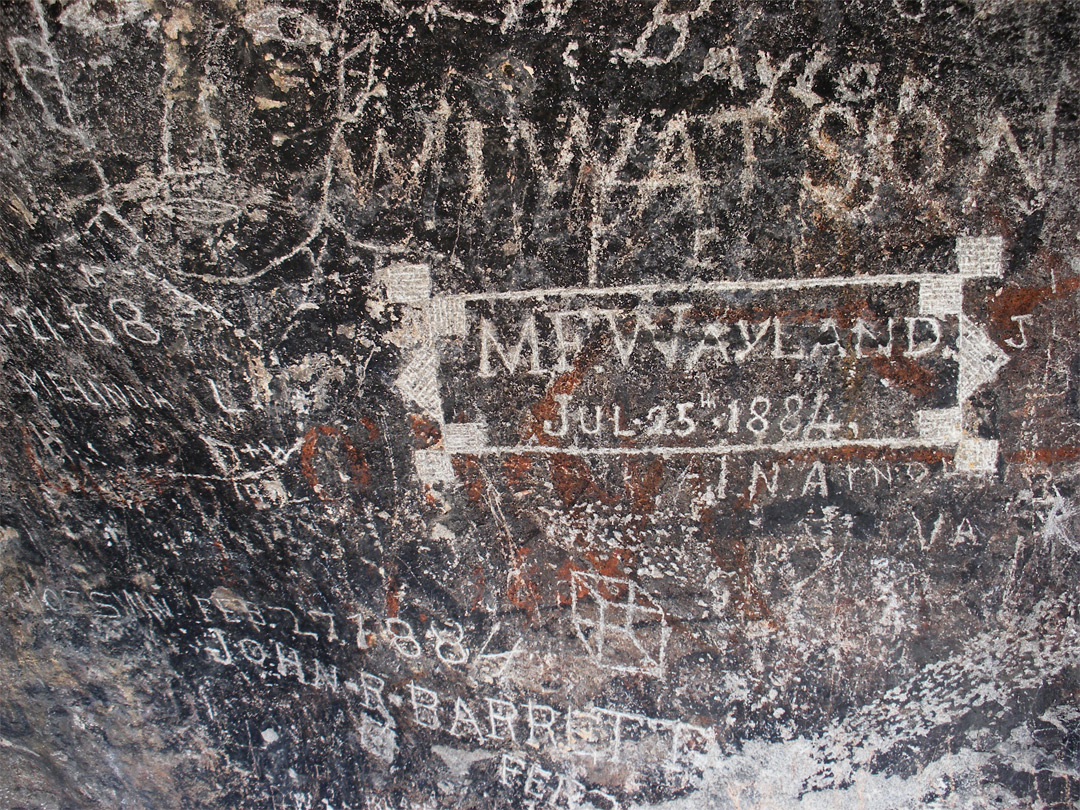 19th century inscriptions